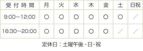 :豊川御津店営業時間